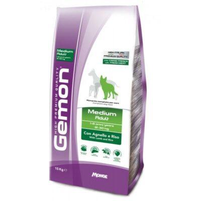 Gemon Medium Adult Agnello e Riso 15 kg