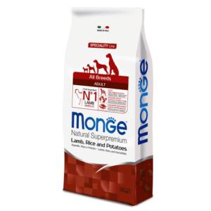 Monge All Breeds Adult Agnello Riso e Patate 12 kg
