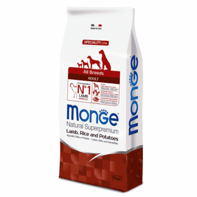 Monge All Breeds Adult Agnello Riso e Patate 12 kg