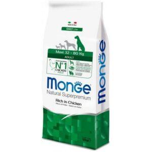 Monge Maxi Adult Ricco Pollo 12 kg