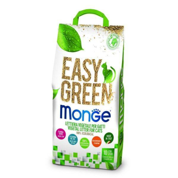 Easy Green Monge Lettiera per gatti  10 Lt biodegradabile