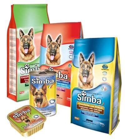 Simba cane linea mangime